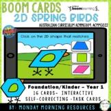 Boom Cards ™ 2D Shapes Spring Maths - Spring Birds - Dista