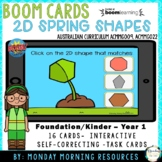 Boom Cards ™ 2D Shapes Spring Maths - Spring Sprouts - Dis