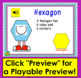Boom Cards™ 2d Shapes Lesson & Practice: 30 Interactive Cards With Sound!