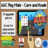 Boom Cards! AAC Play Mats - Cars and Roads w/ Smarty Symbols