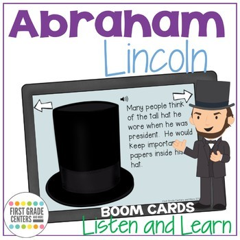 Boom Cards Abraham Lincoln