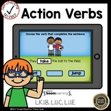Boom Cards Action Verbs