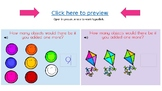 Boom Cards: Adding 1 to numbers 1-10