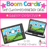 Boom Cards™ Addition Detective (Digital Learning)