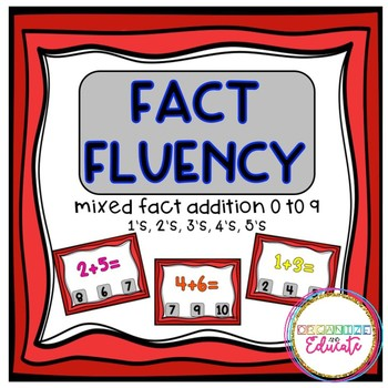 Boom Cards! Addition Fact Fluency, Numbers 1-5, +0 to +9
