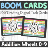 Boom Cards - Addition Fact Fluency Wheels 0-9