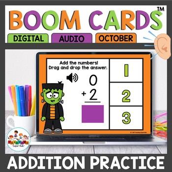 Boom Cards Addition October Themed