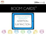 Boom Cards Addition Subtraction Learning Progression Kindergarten