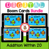 Boom Cards Addition Within 20 Bundle Distance Learning