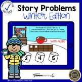 Boom Cards Addition Word Problems Winter