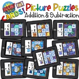 Boom Cards Addition and Subtraction Puzzles Distant Learning
