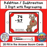 Boom Cards • Addition and Subtraction with Regrouping • Ch