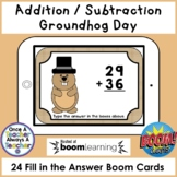 Boom Cards • Addition and Subtraction with Regrouping • Gr