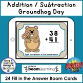 Boom Cards • Addition and Subtraction with no Regrouping •