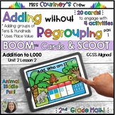 Boom Cards   Addition without Regrouping   Adding Tens & Hundreds   SCOOT