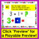 Boom Cards™ Addition to 10: Counting On Dice Dots - Type the Answer - With Sound