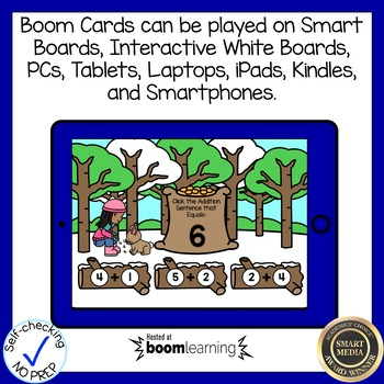 Boom Cards Addition to 10 Winter