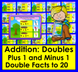 Boom Cards Math  Addition to 20: Doubles Plus and Minus 1