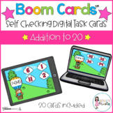 Boom Cards™ Addition to 20