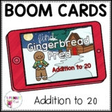 Boom Cards Addition to 20 Find Gingerbread Fred