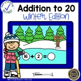 Boom Cards Addition to 20 Winter