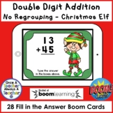 Boom Cards • Addition with no Regrouping • Christmas Elf