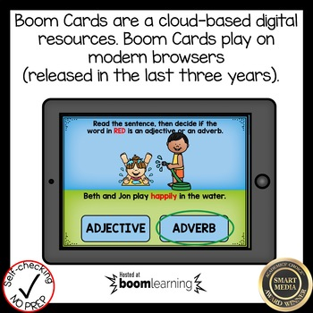 Boom Cards Adjective or Adverb