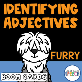 Boom Cards | Adjectives | ELA | Speech Therapy