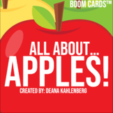 Boom Cards™️ All About...Apples!