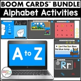 Boom Cards Alphabet Activities Bundle (Digital Task Cards)
