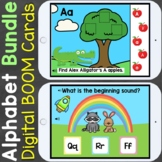Boom Cards Alphabet Letters Bundle (Letter Recognition, Le