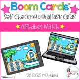 Boom Cards™ Alphabet Match