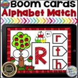 Boom Cards Alphabet Match - Apples