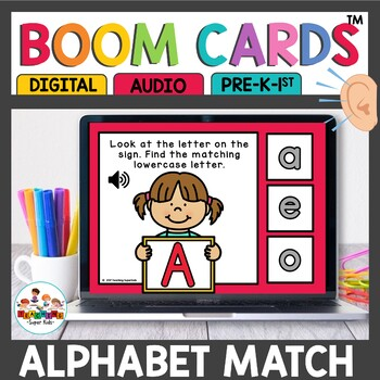 Boom Cards Alphabet Matching
