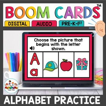 Boom Cards Alphabet Practice