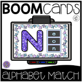 Boom Cards | Alphabet Upper & Lowercase Matching