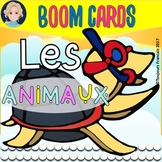 Boom Cards: Animal Vocabulary in FRENCH