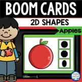Boom Cards™ Apple 2D Shapes DISTANCE LEARNING | Digital Ta