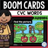Boom Cards™ Apple CVC Words DISTANCE LEARNING | Digital Ta