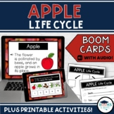 Boom Cards: Apple Life Cycle