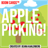 Boom Cards™️ Apple Picking!