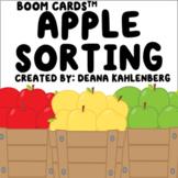 Boom Cards™️ Apple Sorting