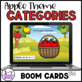 Boom Cards: Apple Picking Categories