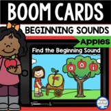 Boom Cards™ Apple Beginning Sounds DISTANCE LEARNING | Dig
