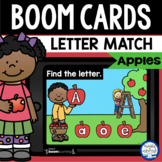 Boom Cards™ Apple Letter Matching DISTANCE LEARNING | Digi