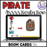 Boom Cards: Pirate Consonant Deletion CV, VC, CVC, CVCV Ap
