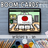Boom Cards™ Articles A - AN  (Theme : FOOD)