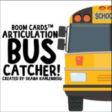 Boom Cards™️ Articulation Bus Catcher!