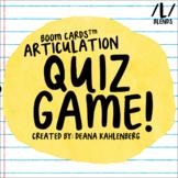 Boom Cards™️ Articulation Quiz Game- L Blends
