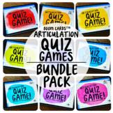 Boom Cards™️ Articulation Quiz Games Bundle Pack